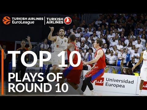 Данк Хайнса — в лучших моментах 10-го тура Евролиги