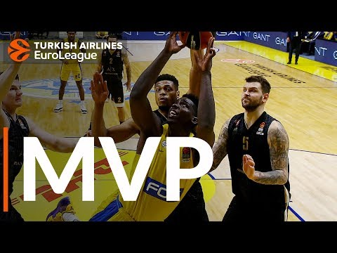 Джонни О'Брайант — MVP 15-го тура Евролиги