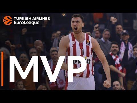 Милутинов — MVP 16-го тура Евролиги