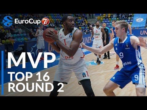 Джамел Маклин — MVP 2-го тура Топ-16 Еврокубка
