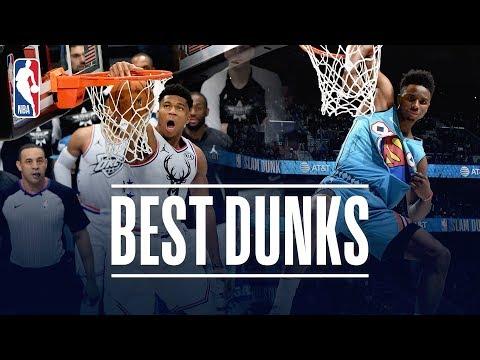 Подборка лучших данков с Матча звёзд НБА