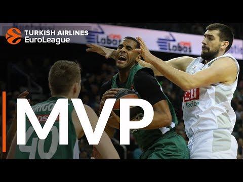 Брэндон Дэвис стал MVP 23-го тура Евролиги