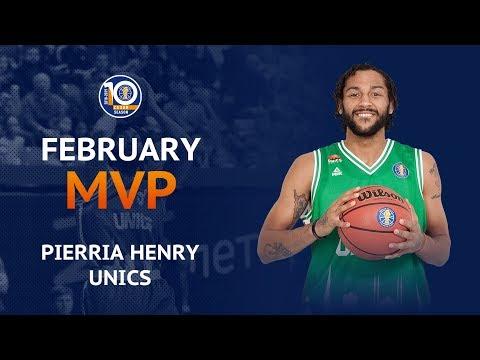 Пиеррия Хенри признан MVP февраля в Единой лиге ВТБ