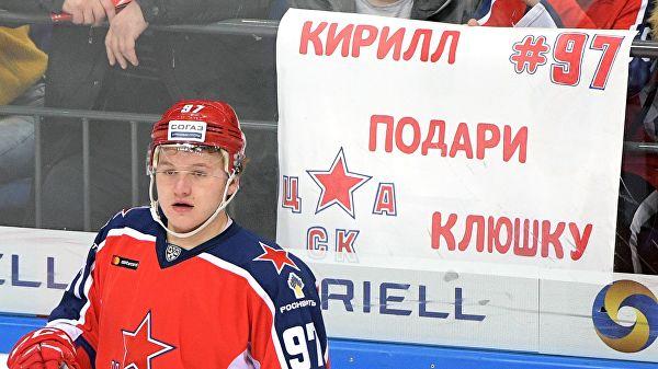 Капризов: нет цели стать лучшим снайпером КХЛ