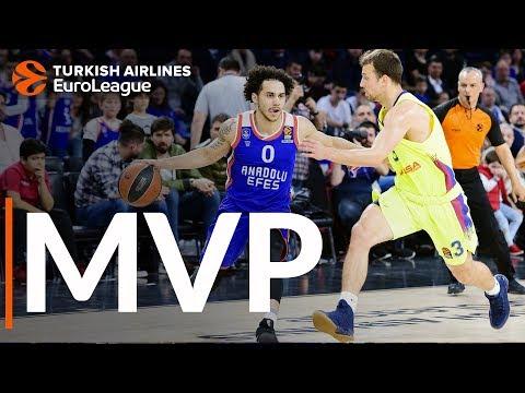 Ларкин — MVP 25-го тура Евролиги