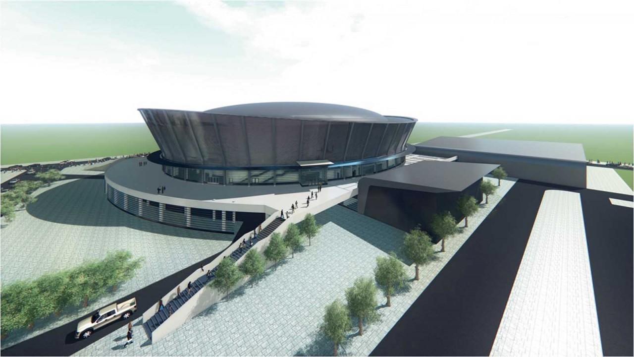 Ледовую арену к МЧМ-2023 в Новосибирске построит подрядчик Универсиады