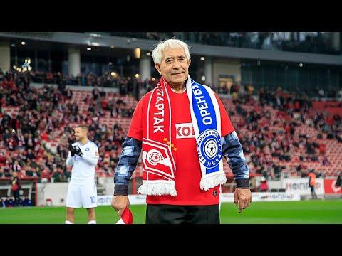 «Спартак» опубликовал трогательное видео визита 78-летнего болельщика в Москву