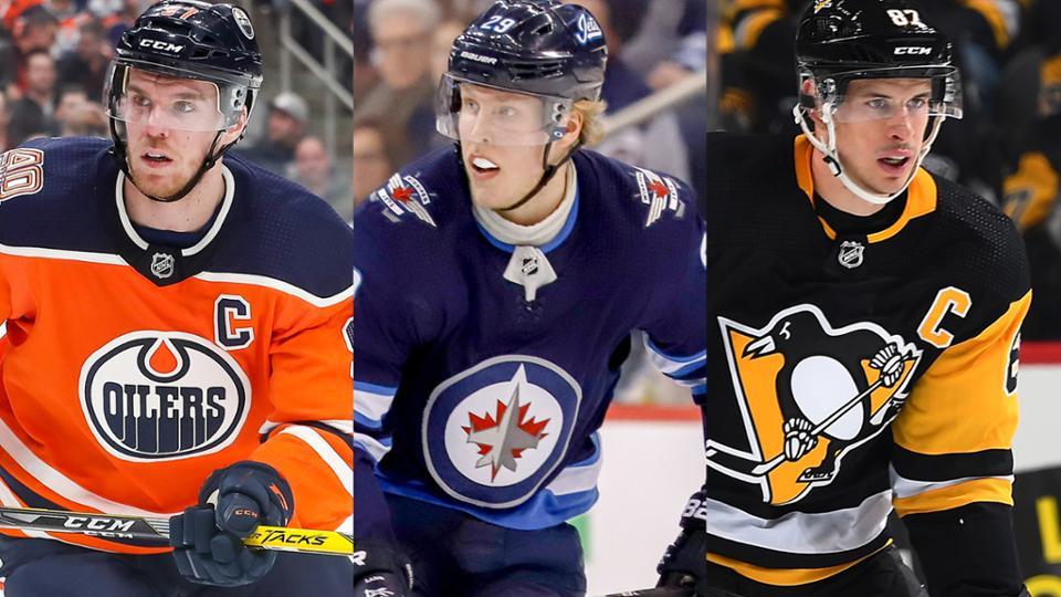 Макдэвид, Лайне и Кросби - лучшие игроки минувшей недели в НХЛ