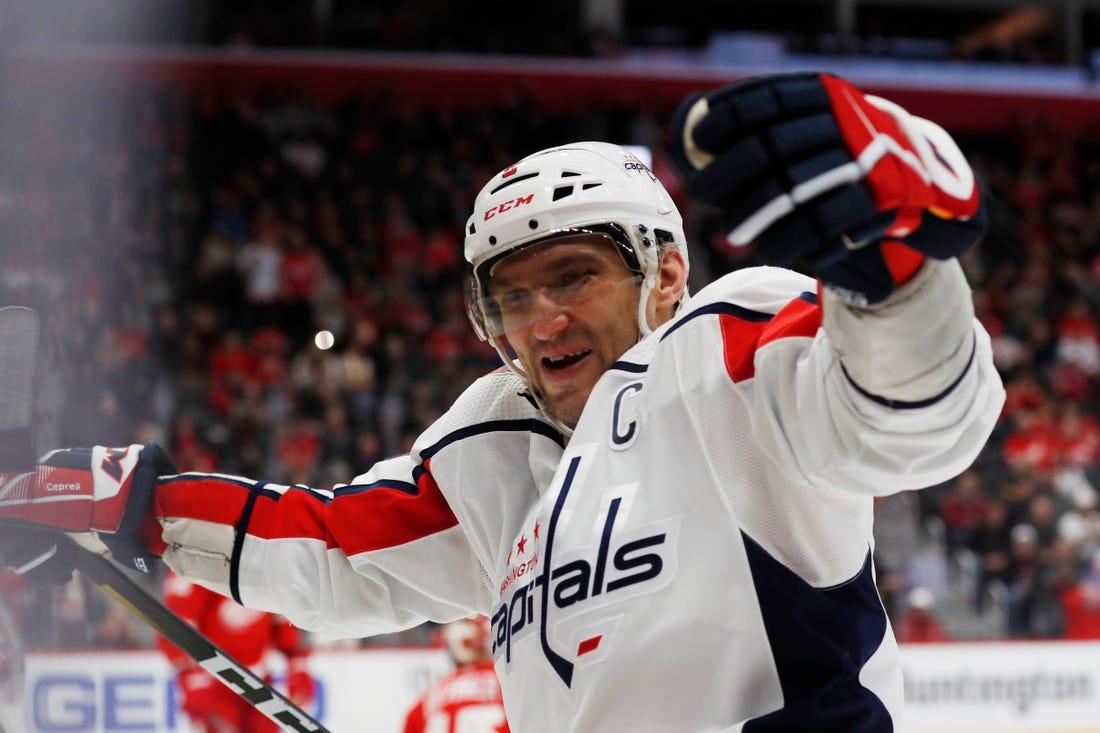 Овечкин установил рекорд НХЛ по количеству хет-триков для игроков из Европы
