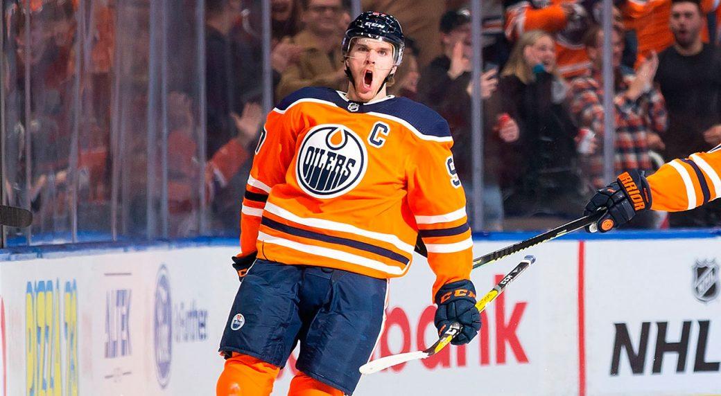 Макдэвид возглавил гонку бомбардиров НХЛ