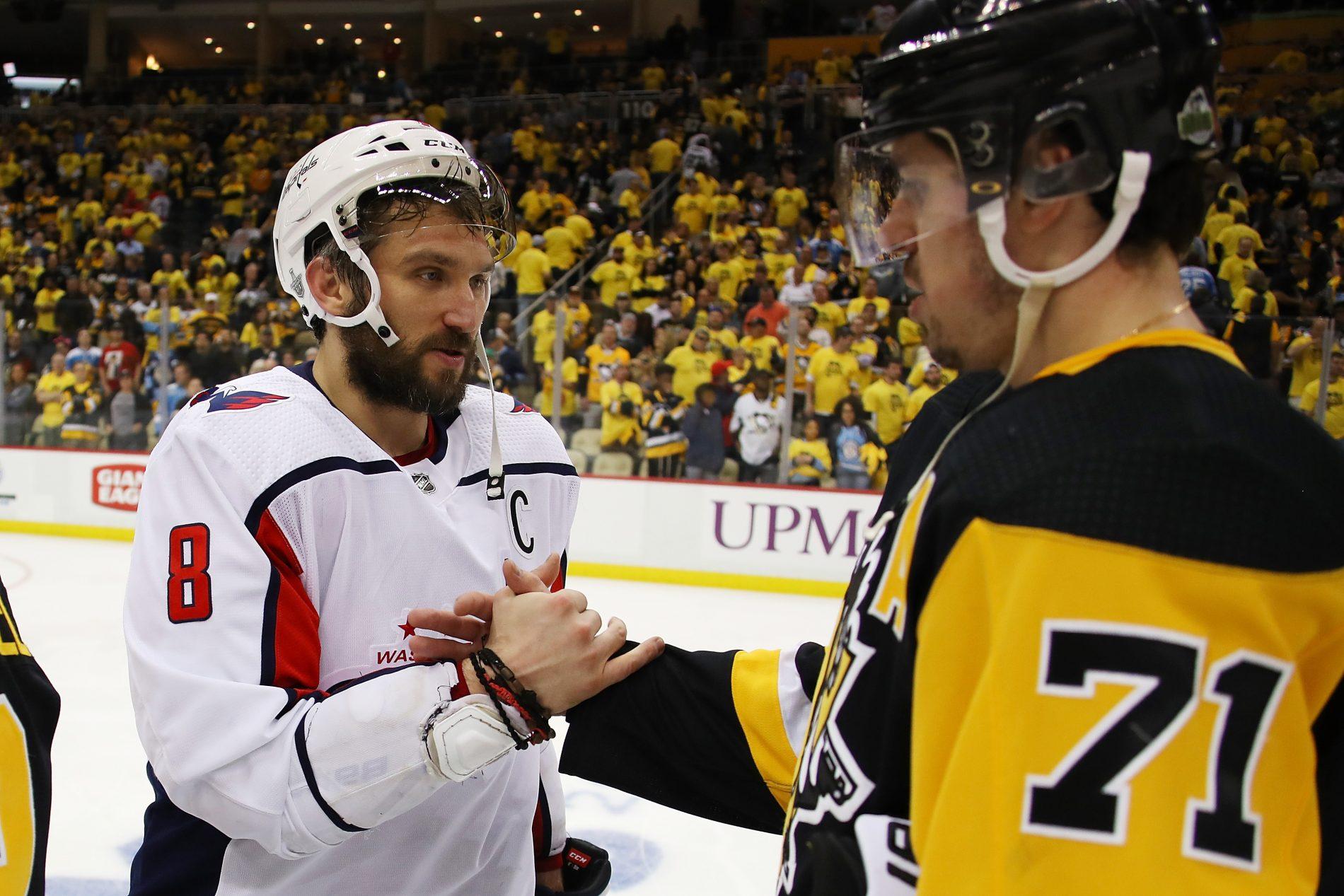 Овечкин вошел в первую символическую сборную НХЛ, Малкин  во вторую