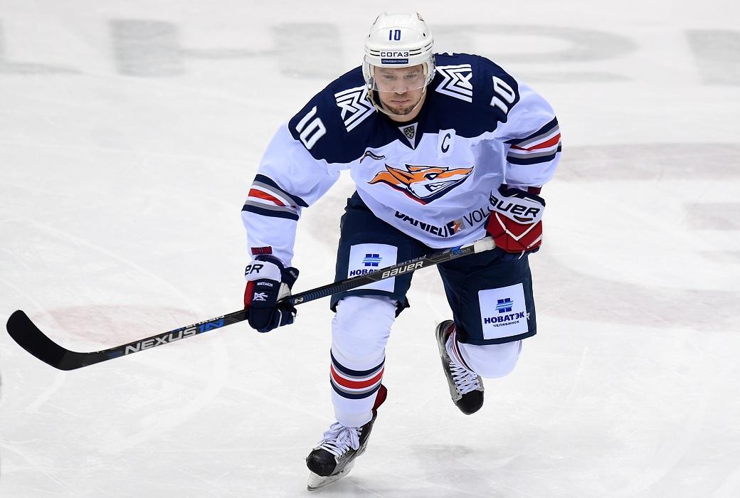 Мозякин первым в истории забросил 400 шайб в КХЛ [видео]