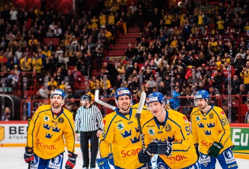 Сборная Швеции победила Финляндию и выиграла домашний этап Евротура